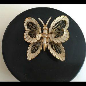 Vintage Napier Butterfly Brooch